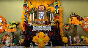 Festival of the Dead in the World of the Living-Altar