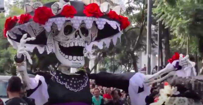 Festival of the Dead in the World of the Living